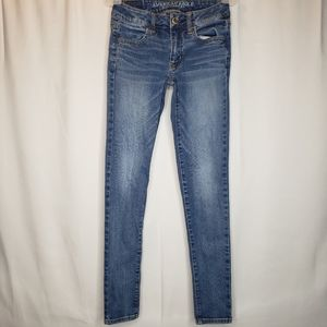 American Eagle Outfitters super stretch jegging 00